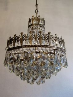 want many chandeliers!