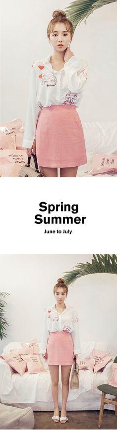 Kitsch Detail Shirt | Korean Fashion #chuu