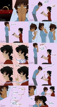 Read Comics & 57 from the story Klance comics by Epartridge (Ash with reads. Voltron Klance, Voltron Comics, Voltron Memes, Voltron Fanart, Form Voltron, Voltron Ships, Shiro Voltron, Klance Cute, Cute Gay