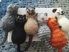 Ravelry: Year Of The Cat pattern by Annalisa Dione