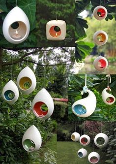 Outdoor Hanging Candle Holders - Best Picture For DIY Candles for kids For Your Taste You are looking for something, and it is going to tell you exactly what you are Outdoor Candle Holders, Outdoor Candles, Ceramic Candle Holders, Hanging Candles, Candle Set, Outdoor Lighting, Ceramic Clay, Ceramic Pottery, Ceramic Birds