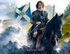 Jamie Fraser Sam Heughan Outlander Season 2