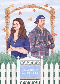 Gilmore Girls #art #illustration