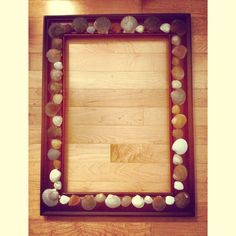 Seashell picture frame DIY decoration
