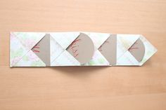 accordion envelope #paper #crafts #tutorials