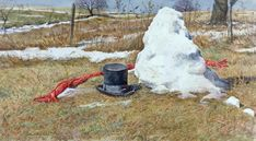Snowman by David Armstrong