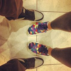 c9cced498250 Fiance s J1 Shadow and my Roshe