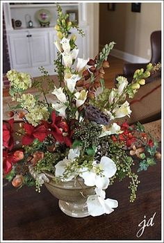 84 best silk flower arrangements images on pinterest floral a silk flower centerpiece you can do yourself solutioingenieria Gallery