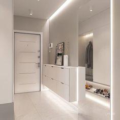 These 4 Living Room Trends for 2019 – Modells. Home Entrance Decor, House Entrance, Home Decor, Home Room Design, Living Room Designs, House Design, Apartment Interior, Apartment Design, Flur Design