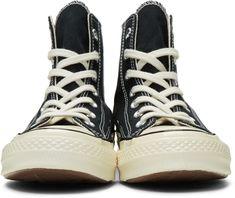 save off bf880 e155e Converse - Black Chuck 70 High Sneakers