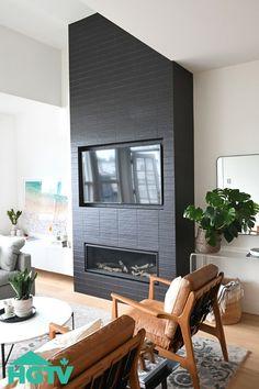 A Coastal-Inspired Vancouver Condo We'd Happily Move Into Right Now Small Condo Living, Small Condo Kitchen, Condo Living Room, Home And Living, Condo Interior Design, Condo Design, Foyer Propane, Small Condo Decorating, Modern Condo