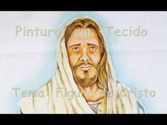 Criando Representação de Cristo - Pintura em Tecido - YouTube