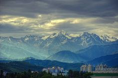 Almaty, Kazakhstan. the view love and miss. part of me is still there.