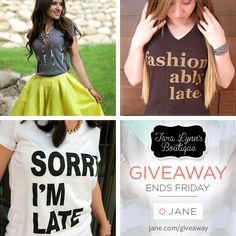 I just entered this giveaway!  I think that these shirts were written about me...now, how do I go about getting royalties? Royaltees?