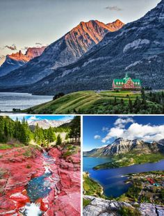 Waterton Lakes National Park in Alberta, Canada. Read the top things to do in Alberta on AvenlyLaneTravel.com