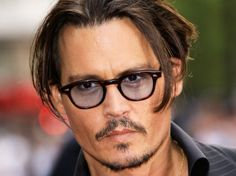 Johnny Depp is amazing! He plays Captain Jack Sparrow in The Pirates Of The Caribbean. Cry Baby, Hot Actors, Actors & Actresses, Johnny Depp Glasses, Here's Johnny, The Lone Ranger, Celebrity List, Celebrity Crush, Aries Men