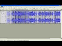 Audacity instrukcja - program do nagrywania dźwięku - YouTube