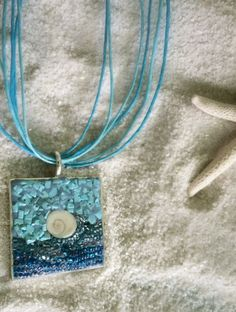 Mosaic pendant M210 by BackbayDesignStudio on Etsy