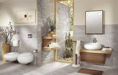 10 idées déco pour une salle de bain nature