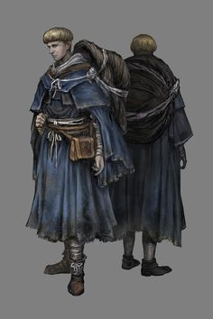 Cleric class in Dark Souls 3. High faith means a reliance on miracles.