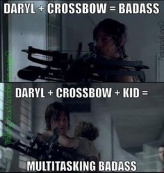 Daryl Dixon. I hear ovaries all over the world exploding right about now.