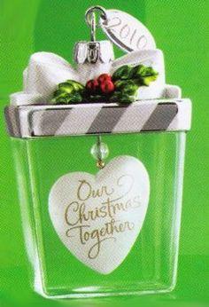 2010 Hallmark Ornament Our Christmas Together