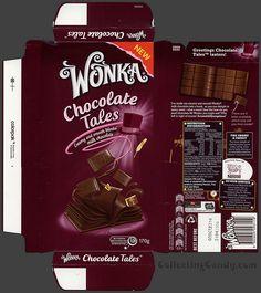 Australia-New Zealand - Nestle - Wonka Chocolate Tales - chocolate bar wrapper box - August 2013 by JasonLiebig, via Flickr