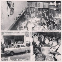First Opening of Amigo Leal Bar, february 1967