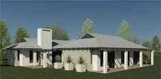 Bali Style 187m² Western Entrance House Plan
