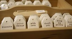 More clay tags