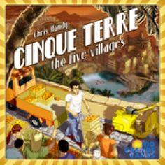 401 Games - $47.95 - Cinque Terre - The Five Villages