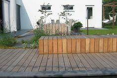Mooi tuinbank van Harold Tuinen