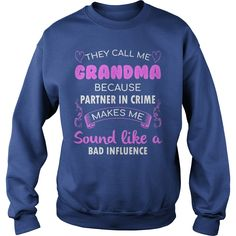 They call me grandma because partner in crime shirt, hoodie, tank top #gift #ideas #Popular #Everything #Videos #Shop #Animals #pets #Architecture #Art #Cars #motorcycles #Celebrities #DIY #crafts #Design #Education #Entertainment #Food #drink #Gardening #Geek #Hair #beauty #Health #fitness #History #Holidays #events #Home decor #Humor #Illustrations #posters #Kids #parenting #Men #Outdoors #Photography #Products #Quotes #Science #nature #Sports #Tattoos #Technology #Travel #Weddings #Women