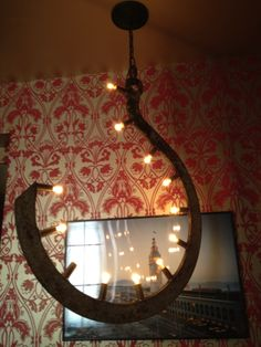 Anything can be made into a cool light fixture.