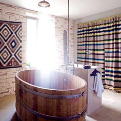 shower & tub.