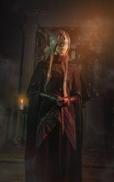 Fire keeper cosplay from The Dark Souls 3 by me Photo byYevgeniy Nakryshskiy