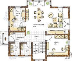 grundrisse einfamilienhaus einfamilienhaus grundrisse von 120 150 qm grundrisse. Black Bedroom Furniture Sets. Home Design Ideas