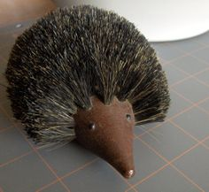 Your place to buy and sell all things handmade Just For Fun, Im Not Perfect, Hedgehog Craft, Boar Bristle Brush, Hedgehogs, Danish Modern, Happiness, Mid Century, Shoe