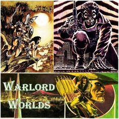 """Warlord Worlds"" is a fan podcast devoted to the comic creations of writer and artist Mike Grell including The Warlord, Jon Sable, Green Arrow, and more."