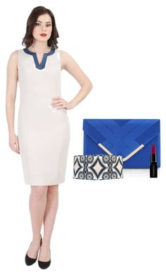 """""""Simply elegance by YOKKO"""" by yokko-the-fashion-store on Polyvore featuring Accessorize and Smashbox.  #yokkoromania #spring2016 #fashion #ss16 #madeinromania #officeoutfit #feminity #office #dress Office Outfits, Ss16, Spring 2016, Peplum Dress, Dresses For Work, Elegant, Store, Polyvore, How To Make"""