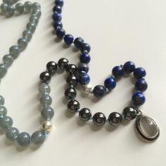Lapis Lazuli ketting van HomemadeBy op Etsy