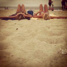 Tanning, beach, laying, friends, cute girls, best friends, photography