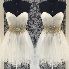 Resultado de imagen de vestidos cortos 15 años sherri hills