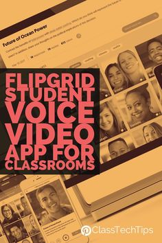Voice app for kids! How are you using video in your classroom? Flipgrid is a terrific video app designed to amplify student voice and empower students as learners.