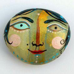 #pebble #stone #stoneart #illustration #handmade #design #paint #mik #kavicsfestés #instatalent #instaart #gallery #art