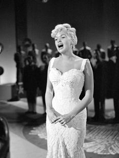 Jayne Mansfield~  She's Mariska Hargitay's mother! Mariska plays Detective Olivia Benson on Law & Order:SVU. Mariska's father is Mickey Hargitay, was a world-famous body builder   From: iVillage  Flashback! Gorgeous Pics of Actresses From the '50s