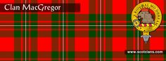 Clan MacGregor Tartan and Crest    http://www.scotclans.com/scottish_clans/clan_macgregor/