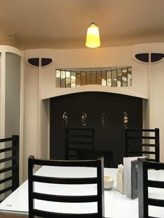 """Willow Tea Rooms, Glasgow Picture: Mackintosh furniture in """"museum room"""" - Check out TripAdvisor members' 30,632 candid photos and videos of Willow Tea Rooms"""