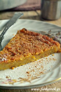 """Loli"" Greek Traditional Butternut Squash Pie from Sifnow Island"