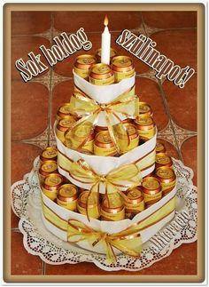 születésnap, pasiknak, férfiaknak, képeslap, sör, torta,